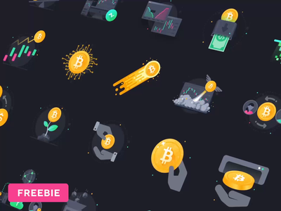 Web Essential Icons Vol 2: Cryptocurrency cryptocurrency app bitcoin freebie fre ui illustration icon icons cryptocurrency