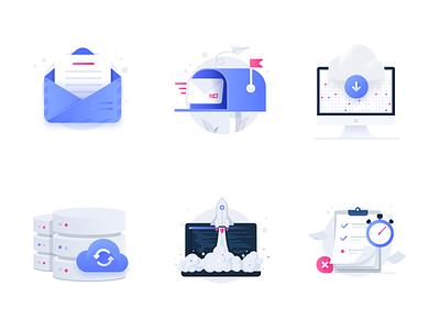 Development Icons web icons app icon code placeholder development illustrations icons