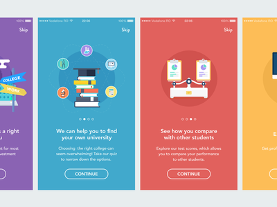 Onboarding animations product ecommerce ios iphone ux ui mobile app interaction onboarding tutorial animation