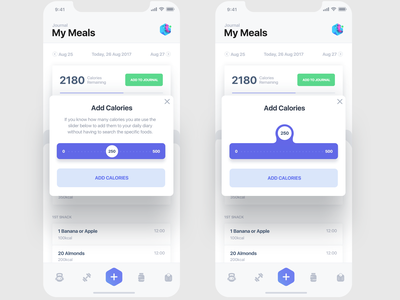 ios Fluid Slider ui ux gif animation interaction ux ui bot ai chat fitness ai mobile app ios
