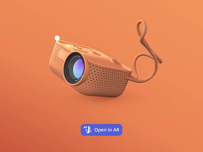 Vectary WebAR webdesign website projector augmented reality augmentedreality webar product design design vectary render 3d