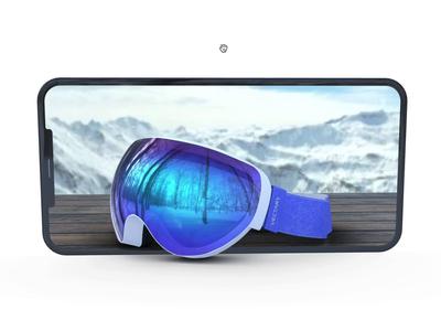 Parallax 3D Viewer webflow landingpage web development web app product design product animation website parallax webdesign scene design vectary render 3d