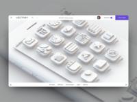 iOS 3D icons