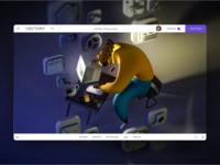 3D illustration icon designer