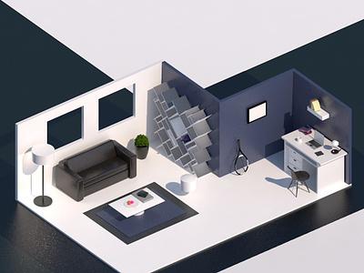 My Room c4dart c4dfordesigners room 3d c4d