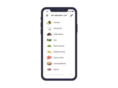 Grocery Shopping in Vancouver #MadeWithAdobeXD
