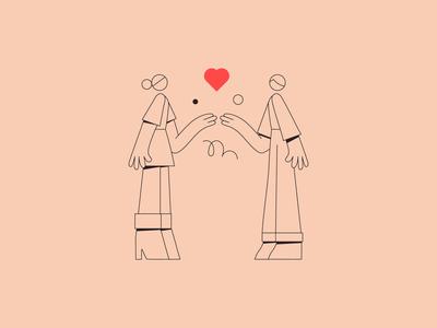 Love & generosity.