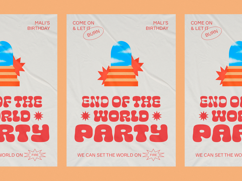 End of the World Party ☄️