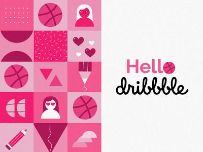 Hello Dribbble :D