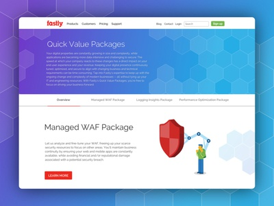 Product pack site design
