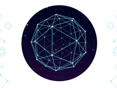 Interactive 3D Geodesic Sphere