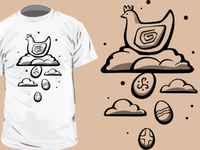 Tshirt design for Rukotvory project