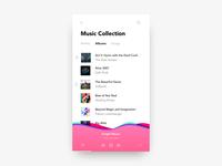 Daily UI Challenge #09 - Music Player
