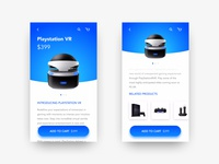 Daily UI Challenge #12 - E-commerce shop