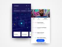 UI Concept: Job Meeting App