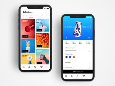 3D-Print Plans Shop iphone download concept shop colors plans daily ux ui collections print 3d