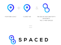 Spaced logo explained