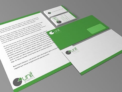 Corporate Identity Package - Unit Graphics