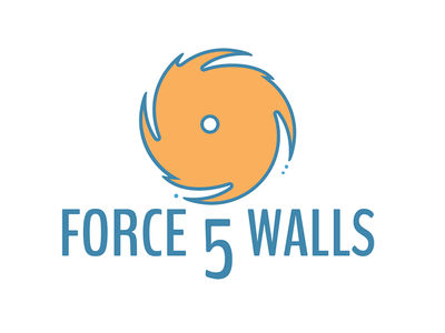 Force 5 Walls Logo