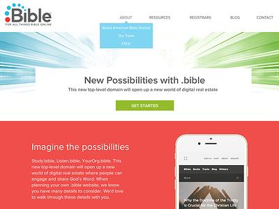 .bible homepage web