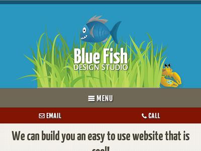 Blue Fish - Mobile // Rebound