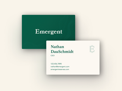 Emergent Reserves Business Cards