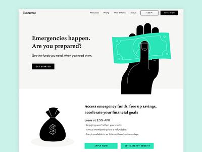 Unused Website Design