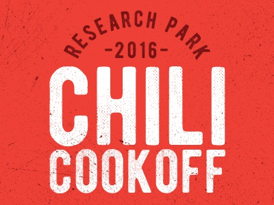 Research Park Chili Cookoff Branding illinois uiuc park research cookoff chili branding