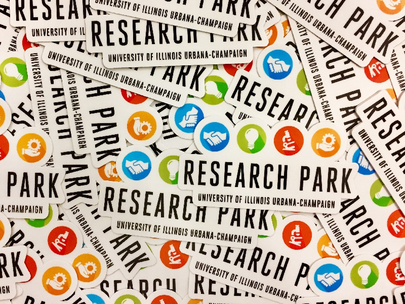 Research Park Laptop Stickers icons entrepreneur research park laptop park research stickers