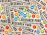 Research Park Laptop Stickers