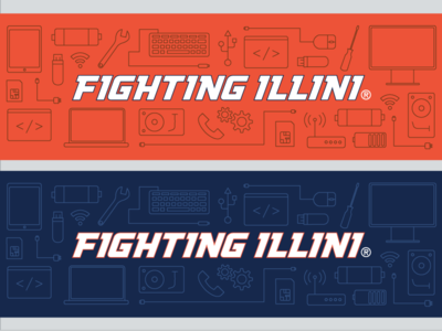 Illinois Athletics IT Services Twitter Image