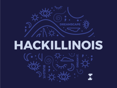 HackIllinois T-shirt Design