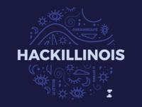 HackIllinois T-shirt Design