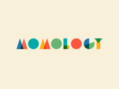 Momology expo event conference children colors blocks branding mom momology logo