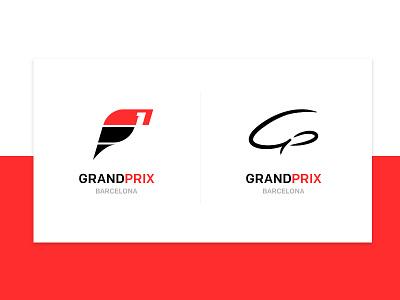 F1 Grand Prix | Logo Explorations logo 2d grand prix logotype car typography logomark branding formula 1