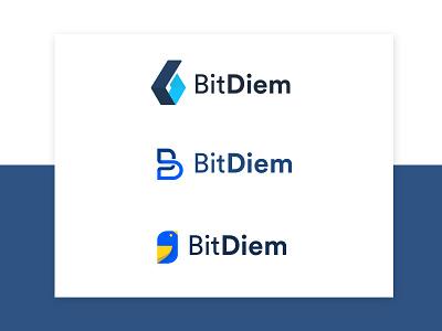 BitDiem | Branding bit diem nic clar blockchain crypto logo design graphic sieo