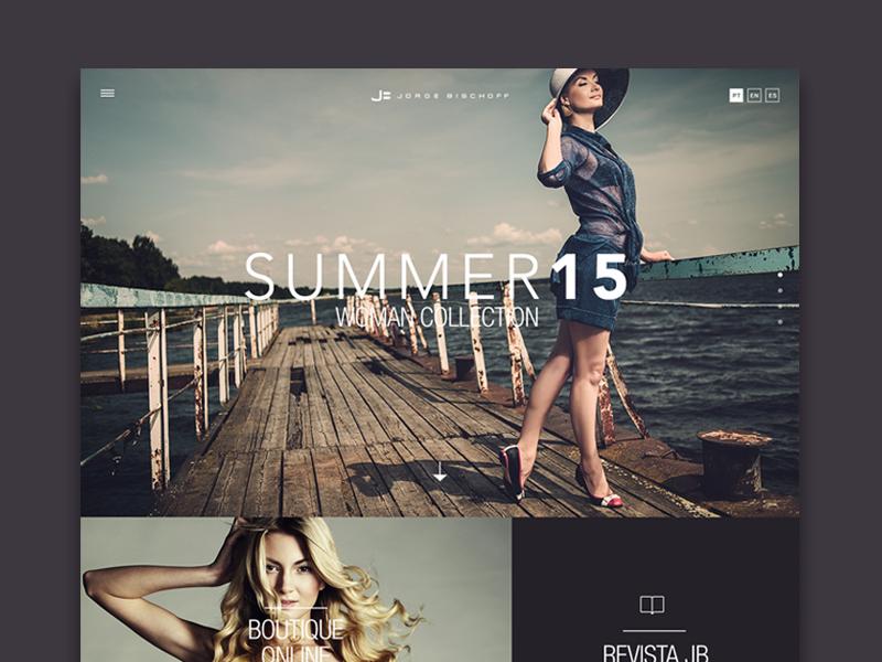 Jorge Bischoff website web fashion