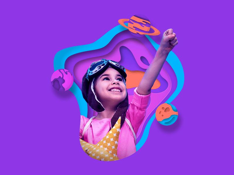 Topway Institutional Project illustration app icon design ux ui