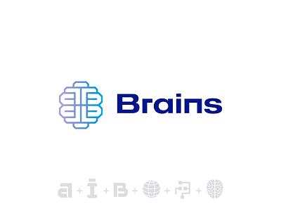 Logo Brain logodesigner brain logo brain health tech logos logo technology logo technology tech lettermark monogram awesome logo logodesign hospital logo hospital doctor medicine artificialintelligence artificial intelligence