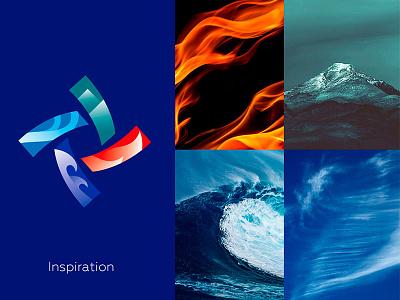 Renewable energy behance logo design branding logo designer logos logo insporation energy logo logotype fourelements vibrant logo gradient logo design logo renewable energy