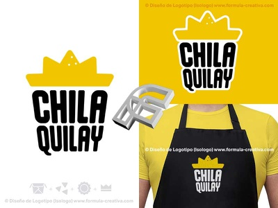 Chilaquiles logo - Mexican food sun logo crown logo sun crown logo concept logo baja california diseño de marca veracruz branding veracruz formula creativa logo designer nachos tortilla chips hot sauce sauce food mexican food mexico mexican chilaquiles