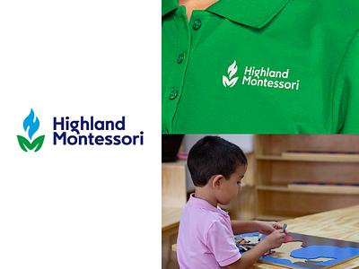 Montessori School logo design branding brand school branding sochool logo graphic design logos mexico branding mexico marca mexico branding veracruz graphicdesign monogram logo m logo lettermar monograma monogram montessori