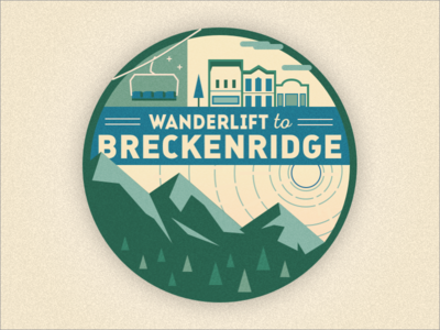 Wanderlift to Breckenridge Sticker