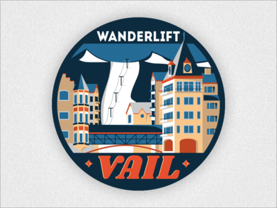 Wanderlift to Vail Sticker