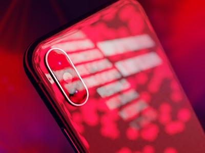 iPhone X Reflection light metal glass gloss shiny future colorado denver blender 3d iphonex iphone