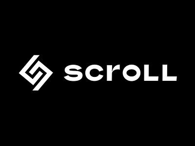 Scroll Scooters Logo mark light ancient greek greek scroll island mediterranean roman modern ancient dark sharp mobility escooter scooter logo