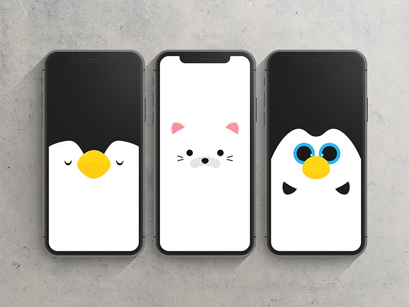 Plushy Wallpapers By Benjamin Sow On Dribbble
