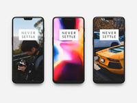OnePlus 6 PSD Template