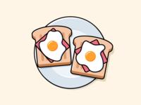Ham x Egg