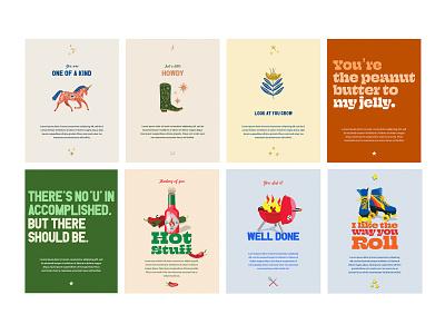 eGreeting Cards illustration design creative direction